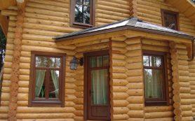 Основное об окнах и дверях в срубе