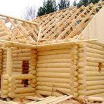 Устройство банной крыши