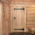 Какими должны быть двери в бане
