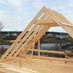 Крыша для бани: устройство и изготовление
