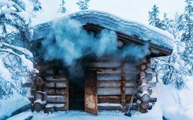 Традиционная русская баня «по-черному» и «по-белому»