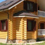 В чём преимущества бревенчатых домов?