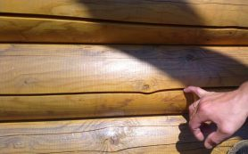 Защита древесины от растрескивания